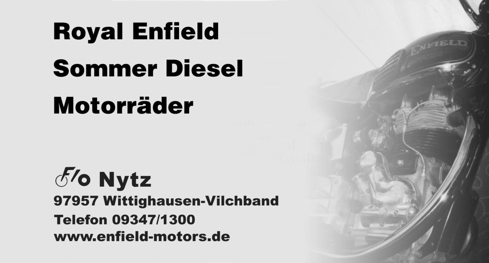 Enfield Motors - Flo Nytz